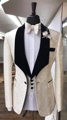 Fit Best Man Suit Wedding/Men's Suits Bridegroom Classic Groom Tuxedos Groomsmen Shawl Lapel Vent Slim Suits Jacket+Pants+Vest+Tie Wedding Men's Suits Groom Tuxedos Slim Suits Online… Indian Men Fashion, Mens Fashion Suits, Mens Suits, Slim Fit Tuxedo, Slim Suit, Groom Tuxedo, Tuxedo For Men, Groom Vest, Groom Attire