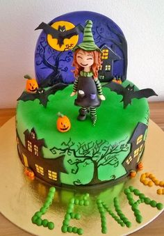 Witch cake - Cake by Andrea