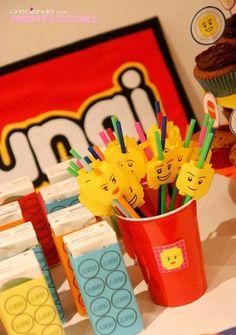 Lego party con Imprimibles (Lego Party Printables) - Creciendo con Montessori