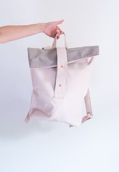 BACKPACK SALMON by igouBags on Etsy