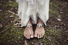 Sweet summer sunday shoes.