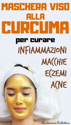 How to make the turmeric face mask that eliminates acne, ru .- Come fare la maschera viso alla curcuma che elimina acne, rughe ed eczema Curcuma Mask for the Face: recipe and use – Collective Evolution - Beauty Routine Checklist, Beauty Routines, Turmeric Face Mask, Face Care Routine, Acne Rosacea, Wie Macht Man, Ancient Beauty, Facial Cleansers, Oily Skin Care