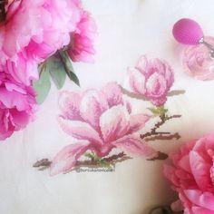 Magnolia Cross Stitch