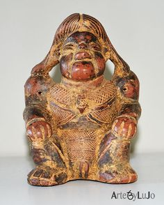 Pre Columbian handmade reproduction / Single copy  Calima culture  - Ref 39