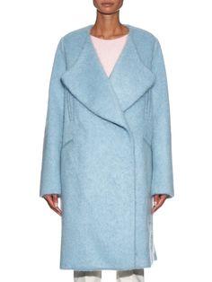 No. 21 Oversized double-breasted coat. Shop Now - #MATCHESFASHION.COM.