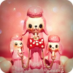 Poodles with Pink Pompadours | Flickr - Photo Sharing!