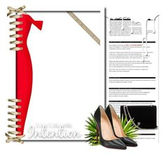 """Untitled #2"" by anidahadzic ❤ liked on Polyvore featuring Arche, Christian Louboutin and Nivea"
