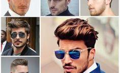 2016 Trendy männlich Pompadour Frisur-Ideen