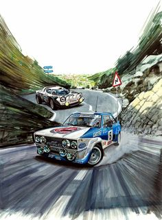 Vintage car and supercar famous photos Car Illustration, Illustrations, Renault 5 Turbo, Stock Car, Car Posters, Car Drawings, Bike Art, Automotive Art, Car Painting