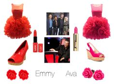 """The voice"" by avac2006 ❤ liked on Polyvore featuring Nine West, Fornash and Guerlain"