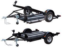 Lowered trailer