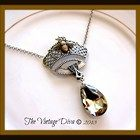 The Vintage Diva Exclusive Queen Bee Necklace 2