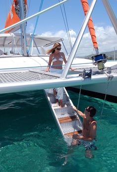 Spend the day on a cruise aboard one of the catamaran yatchs of the hotel!