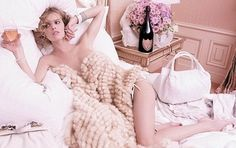 Eva Herzigova for Dom Perignon champagne