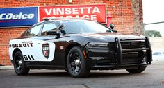 The Dodge Charger Pursuit is one car that you don't want to see in your rear view mirror on the road, especially if you are speeding. It's menacing look, black wheels, and roaring V-8 engine aren't easy to outrun and now it's fighting crime even better with the new Uconnect 12.1. Its the sound of the police! #REPIN http://www.wheelhero.com/rims-and-tires