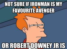 After watching the Avengers again....