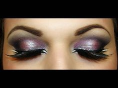#eyes #eyeshadow #silver #pink #glamour