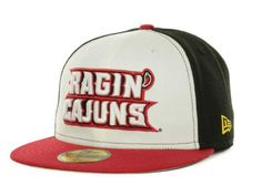 Louisiana Lafayette Ragin Cajuns NCAA Custom Collection 59FIFTY Cap Hats