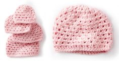 Baby's First Crocheted Cluster Hat [FREE Pattern + Video Tutorial]