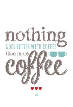 Nothing goes better with coffee than more coffee. #MrCoffee #coffee #CoffeeLove