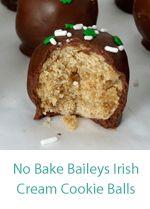St. Patrick's Day Baileys Irish Cream Puppy Chow –