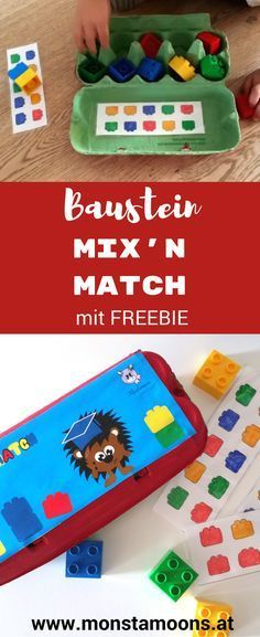 Duplo Mix'n Match Farbenspiel – Diy Home Crafts Diy Crafts To Do, Crafts For Teens To Make, Winter Crafts For Kids, Summer Crafts, Crafts Cheap, Summer Diy, Ocean Animal Crafts, Animal Crafts For Kids, Toddler Crafts