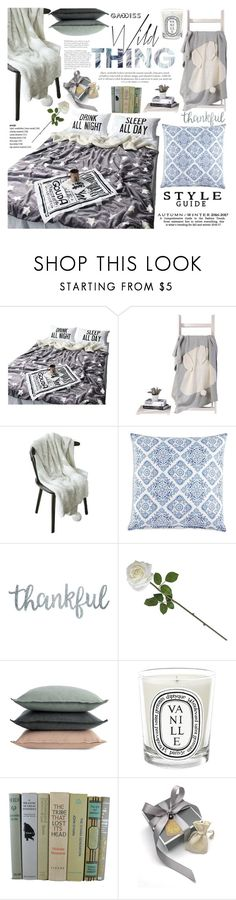 """Cases and blankets"" by vanjazivadinovic ❤ liked on Polyvore featuring interior, interiors, interior design, home, home decor, interior decorating, JR by John Robshaw, Design Within Reach and Diptyque"