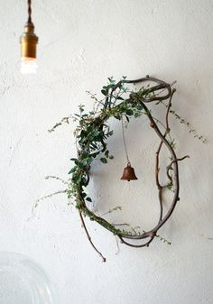 Wedding hoop with green and flowers bridal shower decor decoration ヒ ビ コ ト / co Ideas with dried flowers – Miss Klein DIY Valentine's Day Hoop Wreath with Wood Slices – Lydi Out Loud, DIY embroidery hoop wreath … Noel Christmas, Christmas Wreaths, Christmas Crafts, Xmas, Whimsical Christmas, Diy Christmas Decorations, Seasonal Decor, Holiday Decor, Holiday Parties