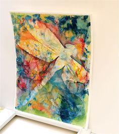 Dragonfly an original watercolor painting by SunnyLeeStudio