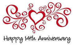 Happy 14th anniversary