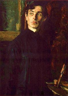 Nesterov, Mikhail (1862-1942) - 1925 Portrait of the Artist Pavel Korin