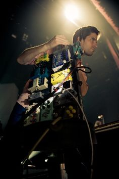 Todd Gummerman of Mutemath shares what's on his pedal board.
