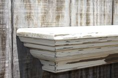 Distressed floating wall shelf by RaysCustomWoodwork on Etsy, $139.99 Country Inspired, Casual Dining Rooms, Bathroom Inspiration, Room Inspiration, Dining Room Inspiration, French Country Dining Room, Home Decor, Coffee Table, Floating Wall Shelves