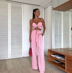 Stylish and Comfortable Pants Dresses Mode Outfits, Night Outfits, Chic Outfits, Trendy Outfits, Dress Outfits, Fashion Outfits, Pink Fashion, Dress Shoes, Shoes Heels