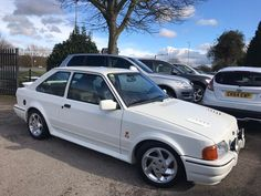 Looking for a 1989 Ford Escort 1.6 Turbo Rs 3dr? This one is on eBay. Ford Rs, Car Ford, Turbo Car, Ford Escort, S Car, Car Images, Old Cars, Cars For Sale, Classic Cars