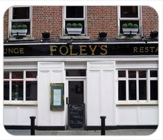 Foley - Click on the pub image above to be the first on your block to own a unique authentic traditional family name Pubs of Ireland mousepad. The mousepad is 8¼ x 9 and is made from stain-resistant high density foam. Only $10 ea. (plus $5 s&h). Cheers!