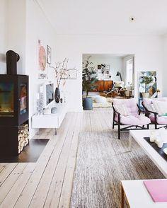 home inspiration: MODERN DANISH MIX | bellaMUMMA