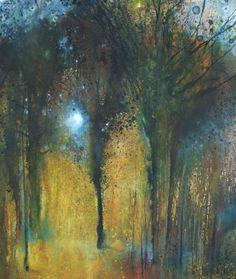 'Through the Trees' by Stewart Edmondson 70x74cm mixed media £1750 http://www.dart-gallery.com/gallery_detail.asp?id=2424