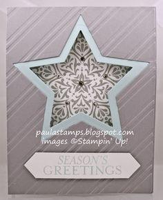 Stampin' with Paula: Stampin' Addicts Winter Holiday Hop: Bright & Beautiful