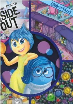 Disney-Pixar's Inside Out (Look and Find) | Protective Behaviours WA