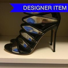 Gianvito Rossi Mirror Cage Sandals Worn only twice!  EUC; TTS; Box included.  Purchased from Barneys New York.  Accepting all reasonable offers! Gianvito Rossi Shoes Heels