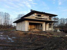 Projekt domu Korso 2 175,94 m2 - koszt budowy - EXTRADOM Home Fashion, House Design, Cabin, House Styles, Home Decor, Projects, New Houses, Homemade Home Decor, Log Projects