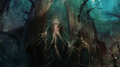 Yog-Sothoth is a cosmic entity in the Cthulhu stories of H.P. Lovecraft. Description from darrenendymion.wordpress.com. I searched for this on bing.com/images