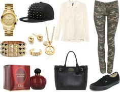 """""""Tenue 39"""" by yasmine-ines ❤ liked on Polyvore"""