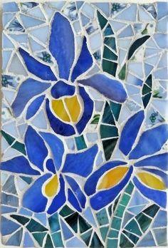 Iris Trio - by Shelly Heiss Designs
