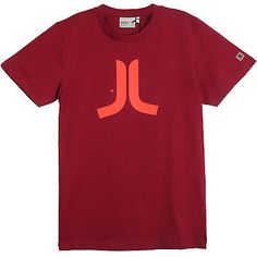 "Wesc T-Shirt ""Icon"" Men's E100583Red Red Size M"