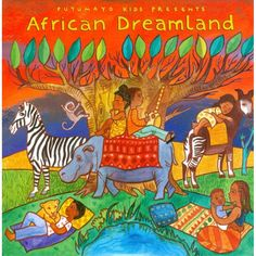 CD African Dreamland, Putumayo World Music, 2015 The Lion Sleeps Tonight, Ladysmith Black Mambazo, Presents For Kids, Music Classroom, World Music, Boy Art, Music Lessons, New Artists, Bedtime