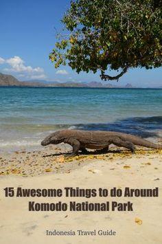 15 Things to do around Komodo National Park @ Indonesia