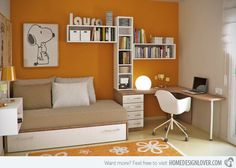 15 Chic yet Functional Teen Girl's Workspaces | Home Design Lover