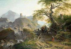Gerard van Nijmegen | 1790 | Mountainous Landscape near Düsseldorf